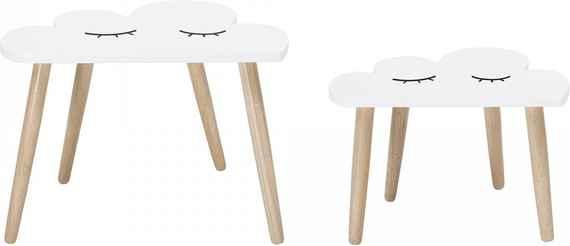 622b54ce2a07 Bloomingville Drevený stolček Cloud Väčší