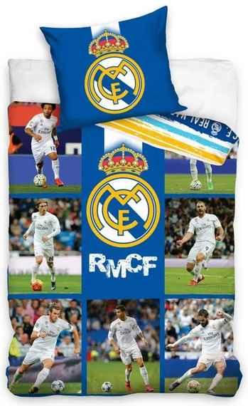 d32e2a724e6a3 ... cm | Oficiálny produkt Realmadrid. Skladom. Carbotex · Bavlnené  posteľné obliečky FC Real Madrid - fotografie hráčov RMCF - 70 x 90