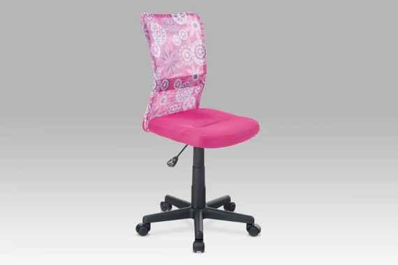 6753ea39786d4 Detská kancelárska stolička KA-2325 PINK Autronic
