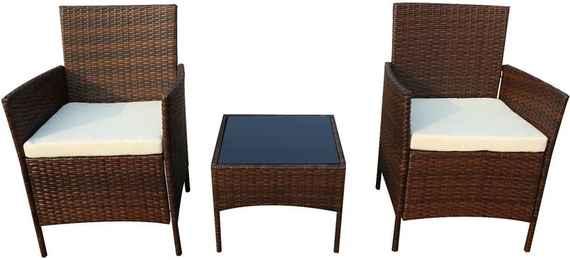 f8c020a6a17a2 Set záhradného nábytku z umelého ratanu Timpana Meloni