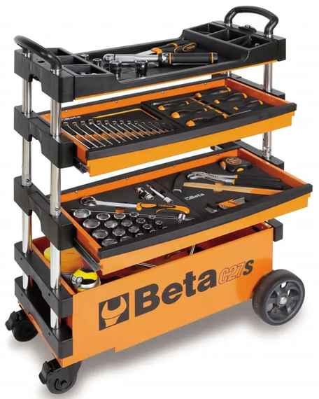 3dacb69d93154 Beta Tools Skladací vozík na náradie