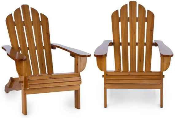 c39d43606577d Blumfeldt Vermont, set záhradných stoličiek, 2 ks, adirondack, 73 x 88 x