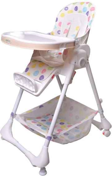 369f924f1b6c Detská jedálenská stolička   ležadlo Puntíky