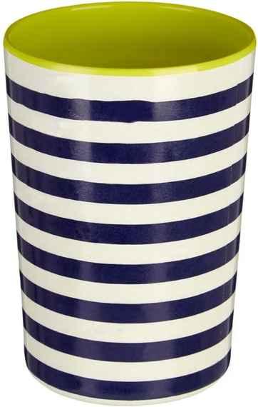Čierno-biela pruhovaná nádoba na kuchynské nástroje Premier Housewares  Mimo 58b44ec4f17