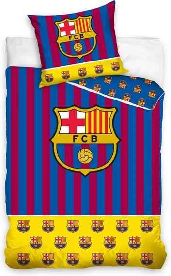 8eadc82e1 Carbotex Bavlnené obliečky FC Barcelona Erby, 140 x 200 cm, 70 x 90 cm