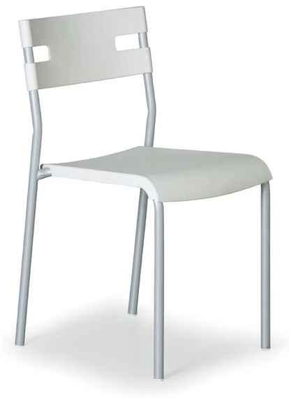 75ea59fe45c5 Plastová jedálenská stolička Lindy