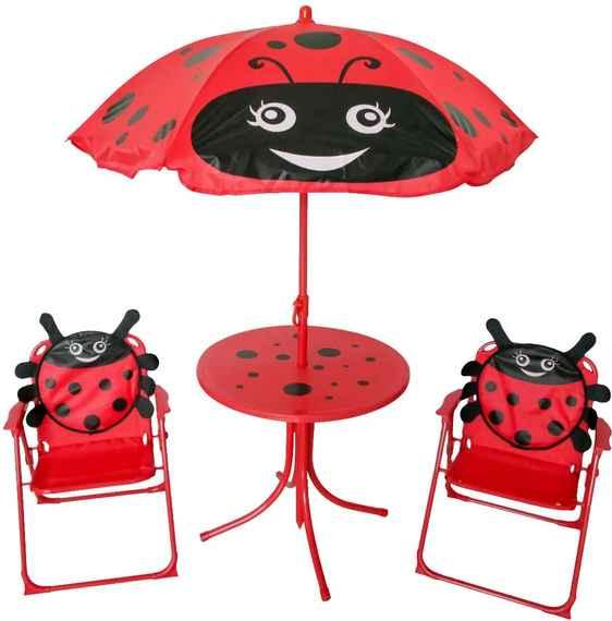 9a7dd7341c104 NABBI Ladybird detský záhradný set červená
