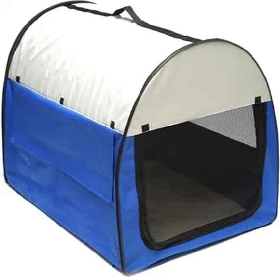 Transportná taška pre psy a mačky 70x51x58 cm modrá DEMA 40979 023177411b6