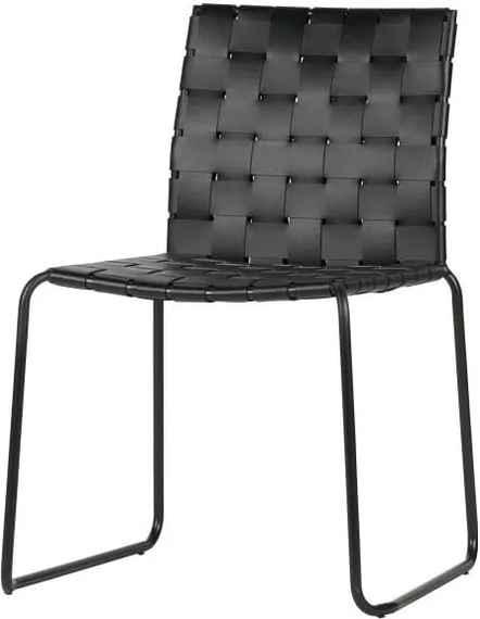 bc6f1dd045e5 Sada 2 čiernych jedálenských stoličiek De Eekhoorn Icon