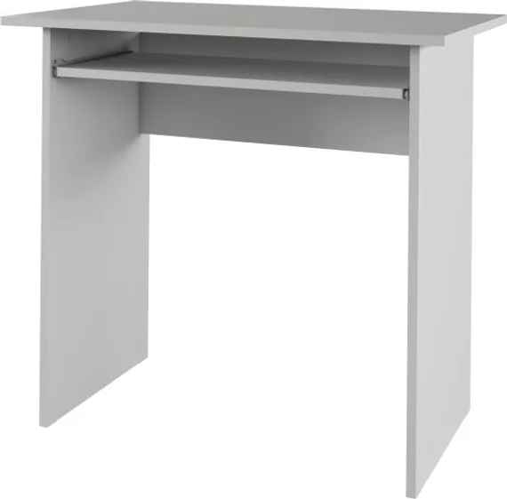 edf34b927237 TEMPO KONDELA Verner New pc stolík biela