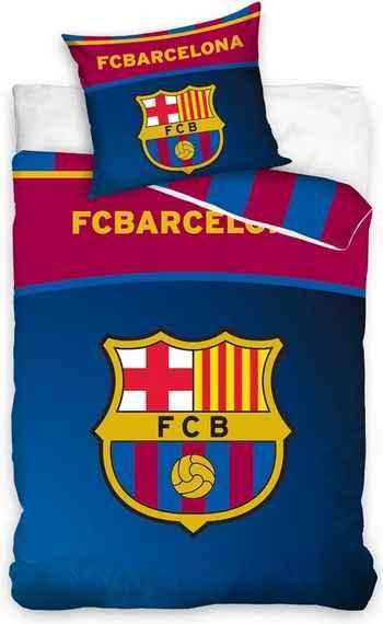 7e4b9091757fc Carbotex Bavlnené obliečky FC Barcelona Belt, 140 x 200 cm, 70 x 90 cm