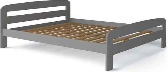 71ac5221e35f Manželská posteľ Dallas 160x200 Farba  Sivá