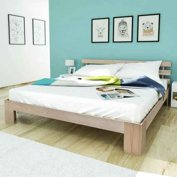 b5784bee6eef Postele z borovice – až 628 masívnych postelí pre vás