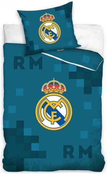 7bbe7ea9630a1 ... cm - Oficiálny produkt Realmadrid. Skladom. Carbotex · Futbalové posteľné  obliečky FC Real Madrid - Dados Blue - 100% bavlna -