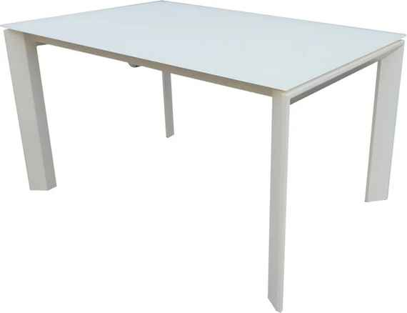 9365106c5f8d Biely rozkladací jedálenský stôl sømcasa Nicola