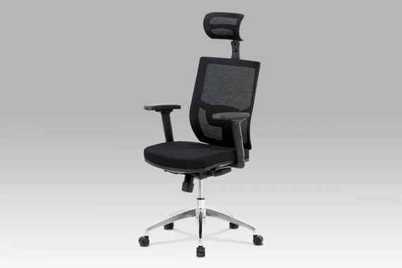 83fc3e91b7a9b Kancelárska stolička KA-B1083 BK čierna Autronic