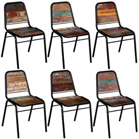 Jedálenské stoličky vo vintage štýle so zľavou  1638429653c