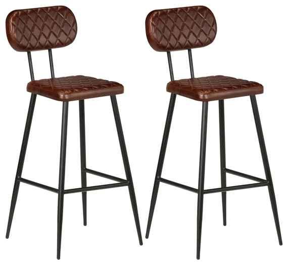 e4683496b4e0 DREWMAX a vidaXL barové stoličky vo vintage štýle