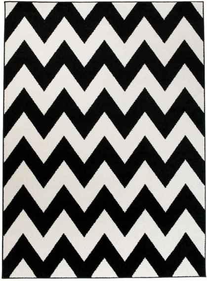 225789248 Kusový koberec Justina čierny, Velikosti 80x150cm