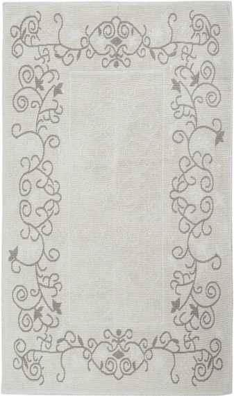 36ee4efc953ab Krémový bavlnený koberec Floorist Floral, 80 × 300 cm