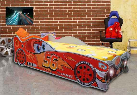 9ba85d5f31a8 MAXMAX Detská autopostel CARS 1 140x70 cm 140x70 pre chlapca NIE multicolor