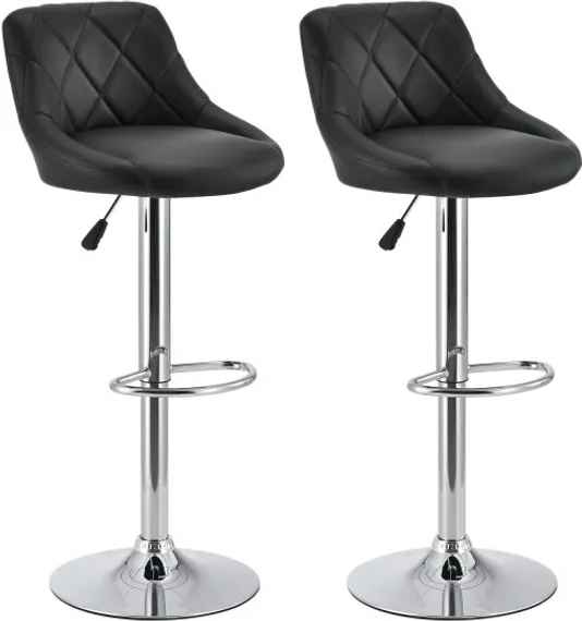 119643c4fbd0 Lacné čierne barové stoličky