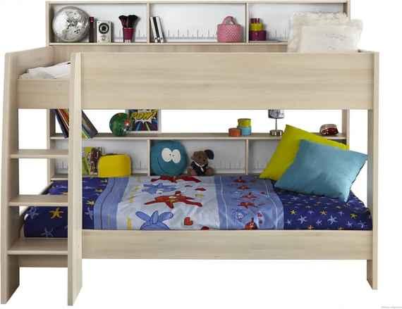 f8f65f0dbb81 Detská poschodová posteľ Irwin - svetlá akácie